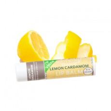 수딩터치, 베간 레몬 카다몸 립밤, 0.25 oz