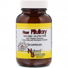 [구매대행] Natural Sources, 로우 뇌하수체 보충제 (Raw Pituitary) 80 mg, 50 capsules