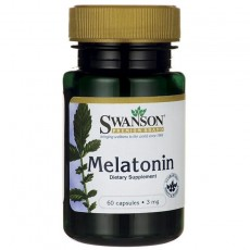스완슨 프리미엄, 멜라토닌 3 mg, 120 Capsules