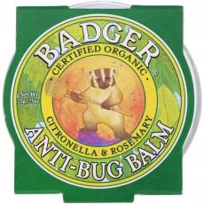 뱃져 BADGER, 벌레물림방지 휴대용 Anti-Bug Balm, (0.75oz)