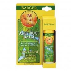 뱃져 BADGER, 벌레물림방지 스틱형 [소형], Anti-Bug Balm, 0.6 oz (17 g)