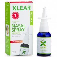 Xlear 엑스클리어, 수딩 & 모이스춰라이징 코세척 스프레이 with 자일리톨, 45 ml