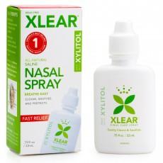 Xlear 엑스클리어, 자일리톨 식염수 코 스프레이, 22 ml