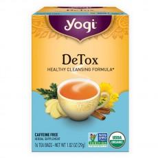 요기 티, Detox Caffeine Free, 16 티백