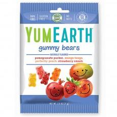 YumEarth, 거미 베어 (곰 젤리), 4가지 다양한 맛, 2.5 oz (71 g)