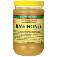 Y.S. Eco Bee Farms, 비 정제 꿀(양봉장 체취한 100%,무가공,무첨가), 22.0 oz (623 g)