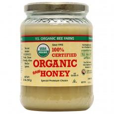 Y.S. Eco Bee Farms, USDA 유기농, 비 정제 꿀(양봉장 체취한 100%, 무가공,무첨가), 2 lbs (907 g)